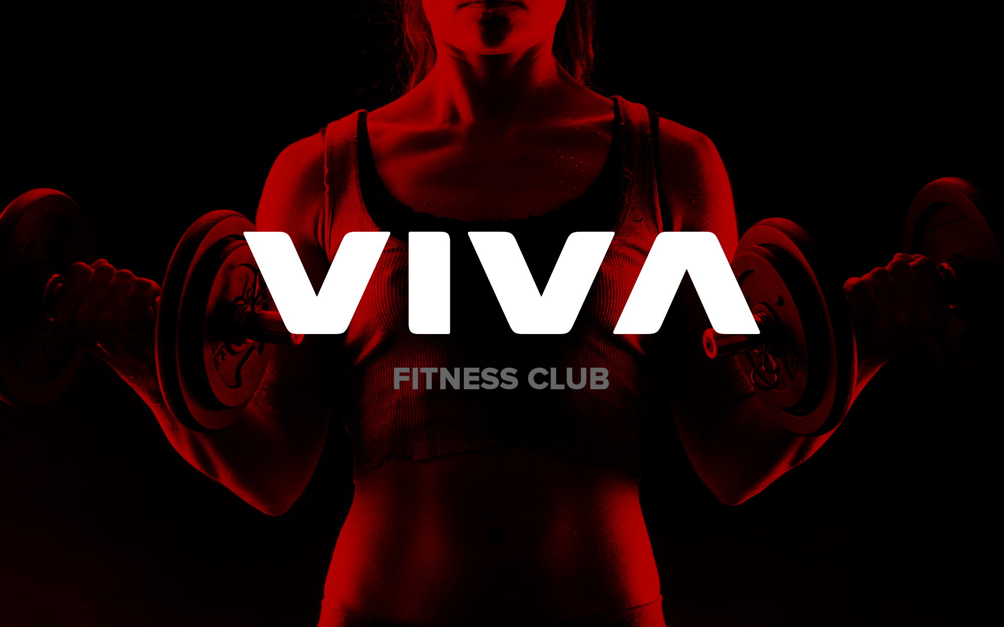 Fitness club logo design