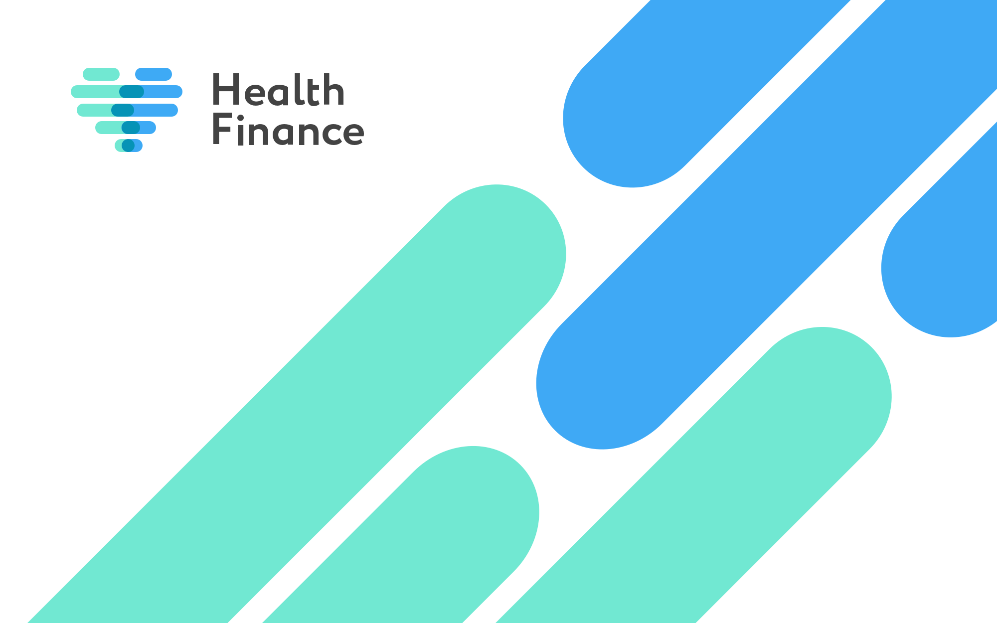 Health Finance logotype design