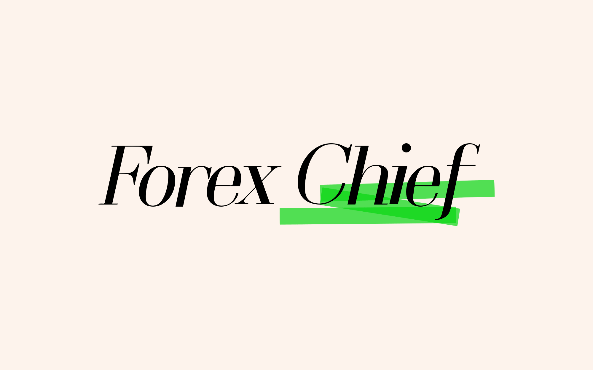 Forex chief