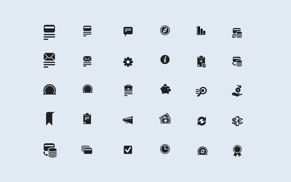 Icons for the web-site