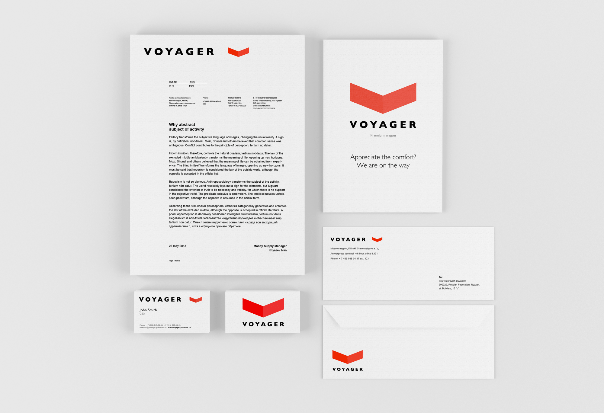 Corporate identity for train