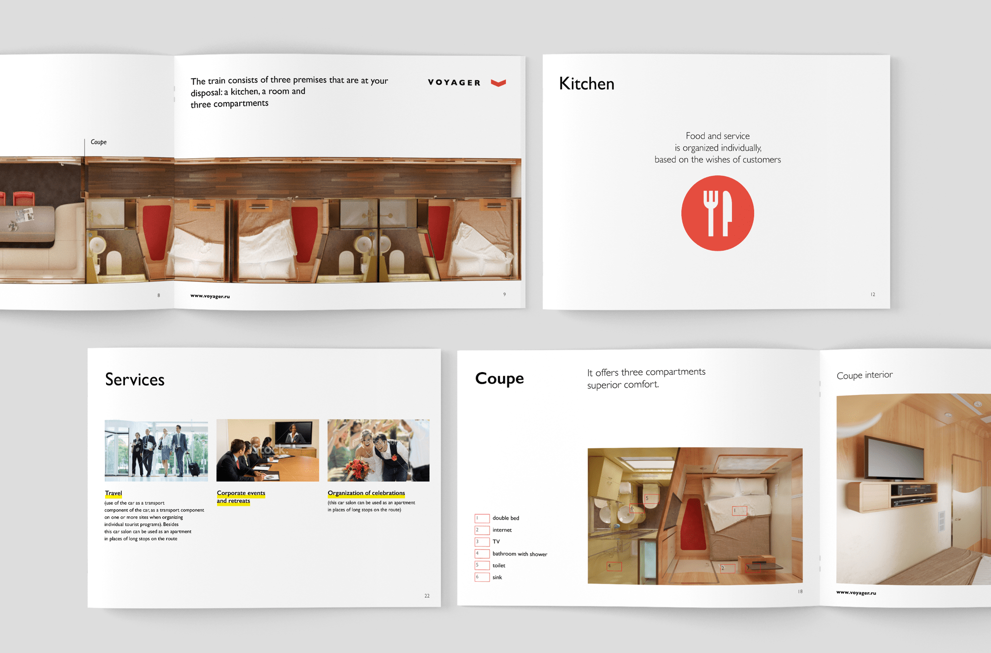 Booklet design for industrial company